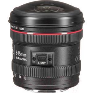 «рыбий глаз» Canon EF 8-15mm f/4L USM Fisheye