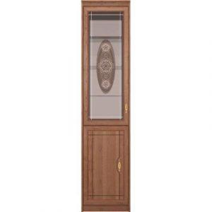 Шкаф-пенал с витриной Ижмебель Лондон 30